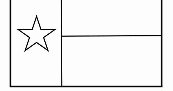 Texas State Flag Coloring Page Luxury Texas Template For Kids Flag Coloring Pages Texas State Flag State Flags