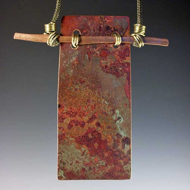 727 best cold connections images on pinterest metal jewelry metal this light weight copper pendant is always striking audiocablefo