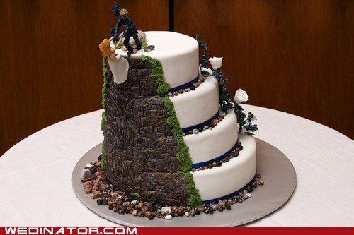 Pinterest Wedding Cakes: Wedding Cakes & Rock Climbers - Google Search