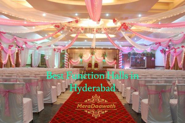 Best wedding function halls in Hyderabad. Check here ...
