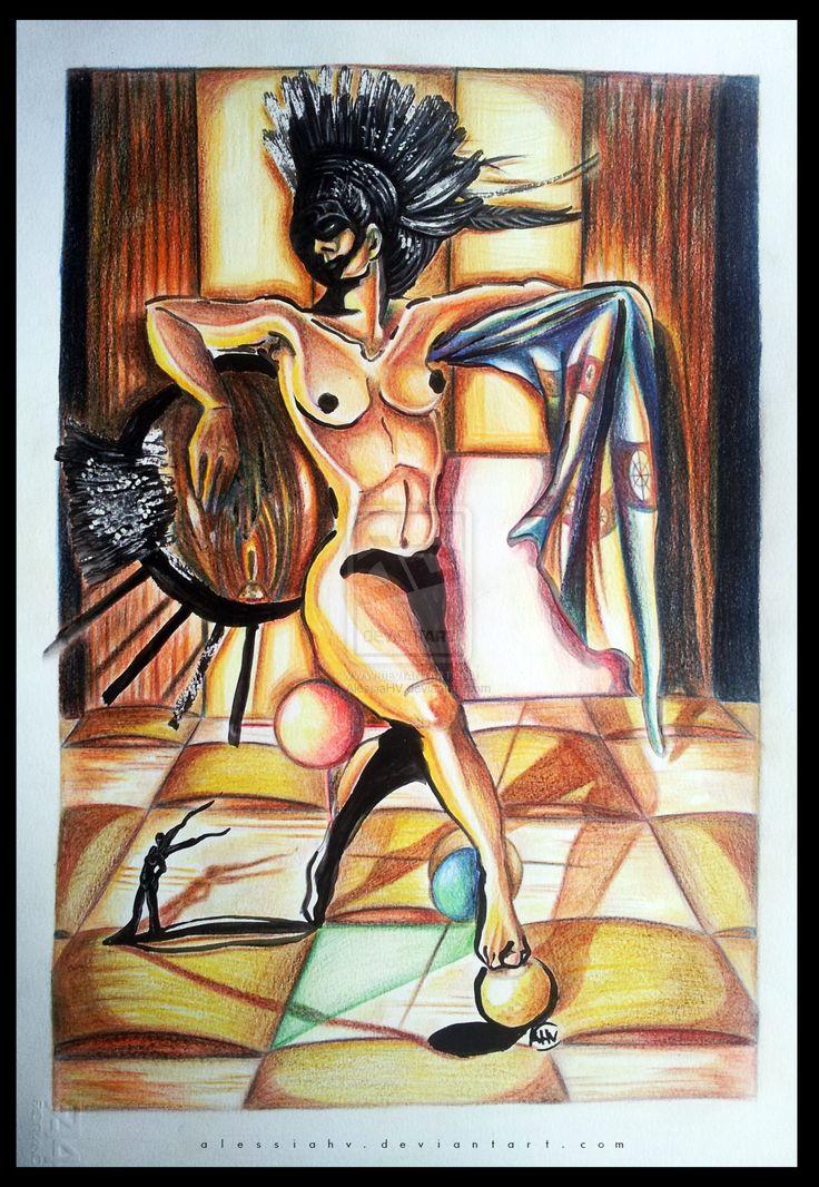 Black Masked Venus. by AlessiaHV.deviantart.com on @DeviantArt