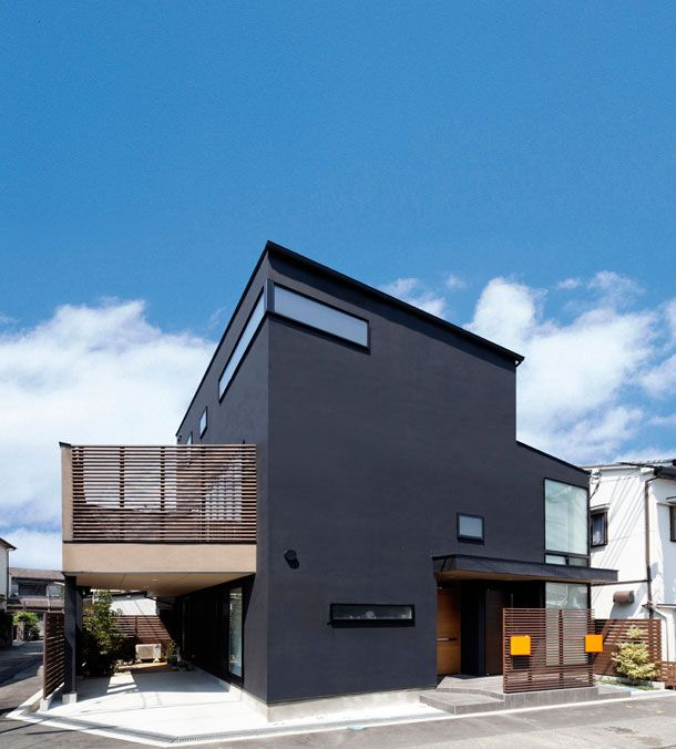 CASE 204 | 黒い外観の家(大阪府豊中市) | 注文住宅なら建築設計事務所 フリーダムアーキテクツデザイン