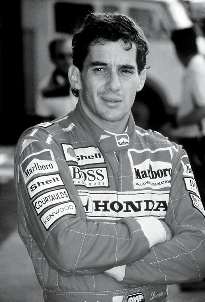 Formula One: the legendary Ayrton Senna