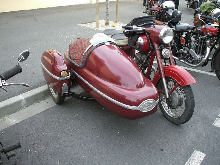 1957 Jawa 250 complete with Velorex sidecar