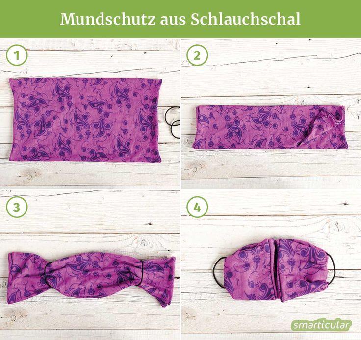 Mundschutz Aus Schal