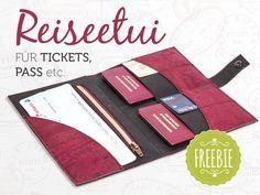 Passport wallet organiser Freebie by pattydoo