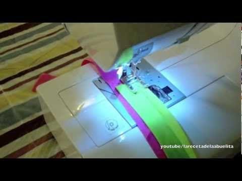 Cuando comenze a coser, empece poniendo cinta bies de la manera fácil, pero no me salía nada bien hasta que aprendí a hacerlo como se debe, espero que les guste este tutorial.
