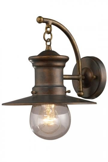 Rustic Wall Light Fixture  I like these too!