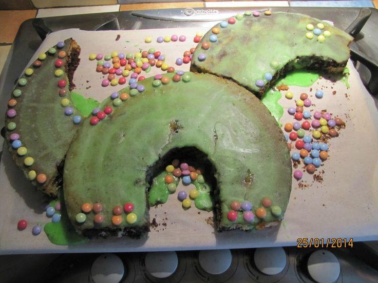 Gateaux en forme de dinosaure