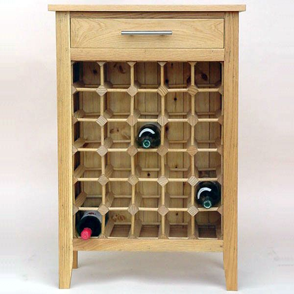 Shop For High Quality Contemporary Wooden Wine Cabinet/Rack   30 Bottle    Buy From Wineware Today For Free Delivery On All Orders Over