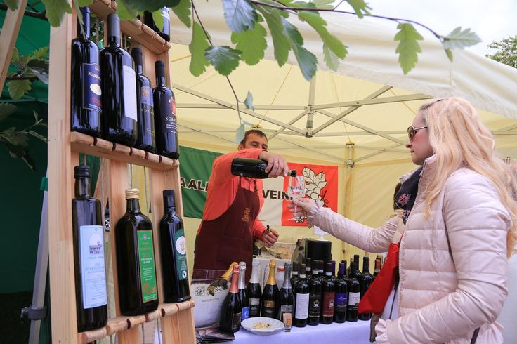 Italian wine party in Haapsalu 2017, Estonia