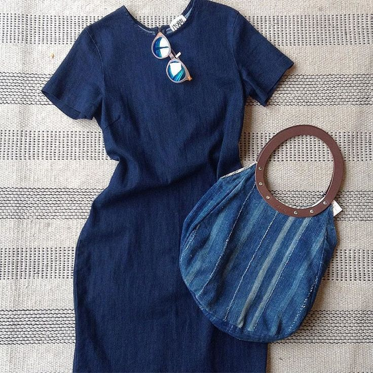 We're coming for you Monday with this smart denim dress, upcycled denim tote and Eco sunnies made from 63% renewable non-food oil,…