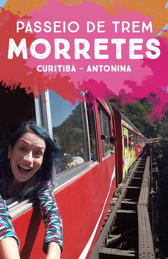 O Passeio de trem Curitiba até Morretes é a segunda atração turística mais visitada do PR (só perde para as Cataratas) e passa pela Serra do Mar! Assista:
