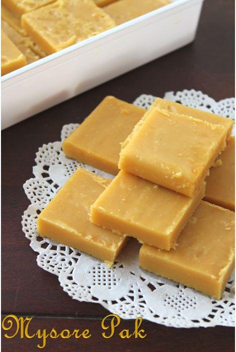 Soft Mysorepak OR sweet chickpeaflour cake