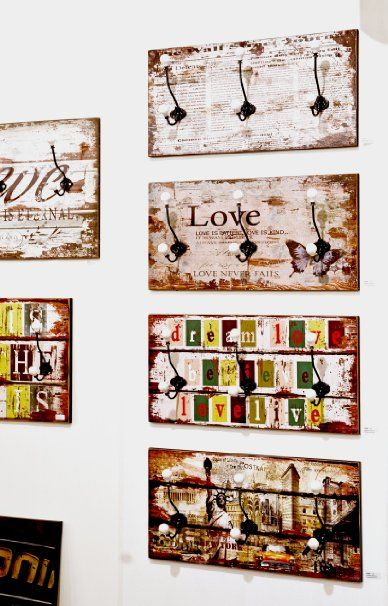Haku Möbel 42949 - Perchero de pared, 60 x 12 x 30 cm, varios colores: Amazon.es: Hogar