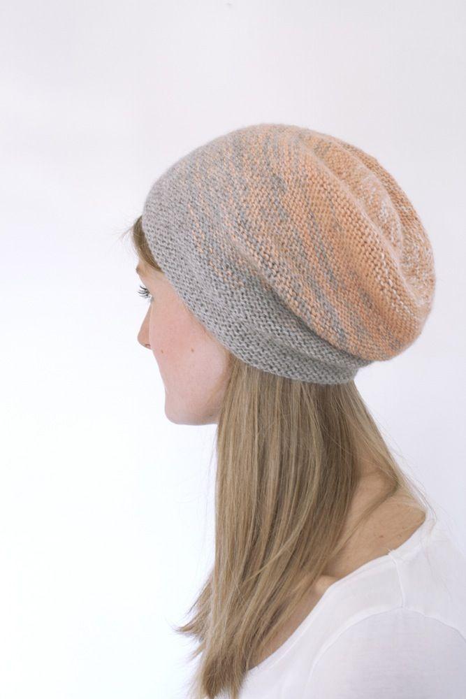 DIP DYE hat // knitting kit // by Camilla Vad // www.g-uld.dk