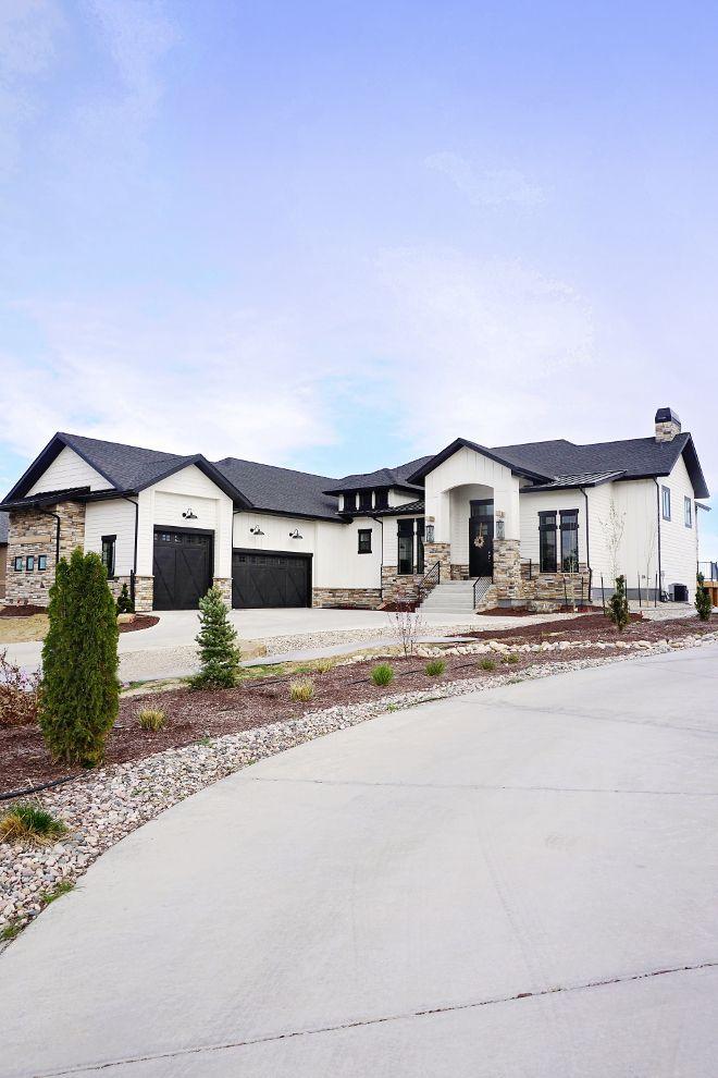 White Brick House Exterior Ranch