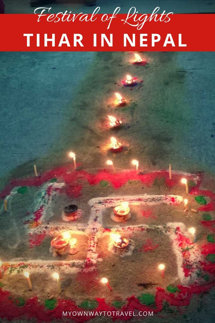 Tihar Celebration in Pokhara, Nepal | My Own Way To Travel
