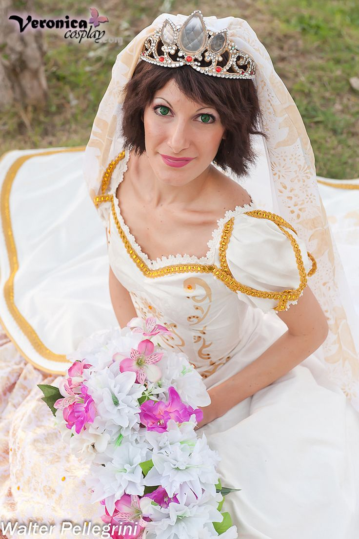 Rapunzel Wedding Dress By VeronicaCosplaydeviantart On DeviantART DressTangled WeddingDisney Princess
