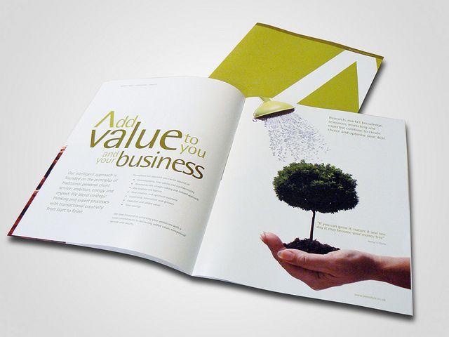 Corporate Brochure design by BlueFlameDesign, via Flickr