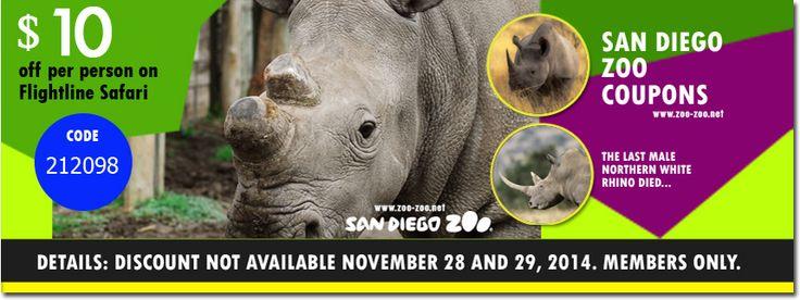 Zoo safari coupons
