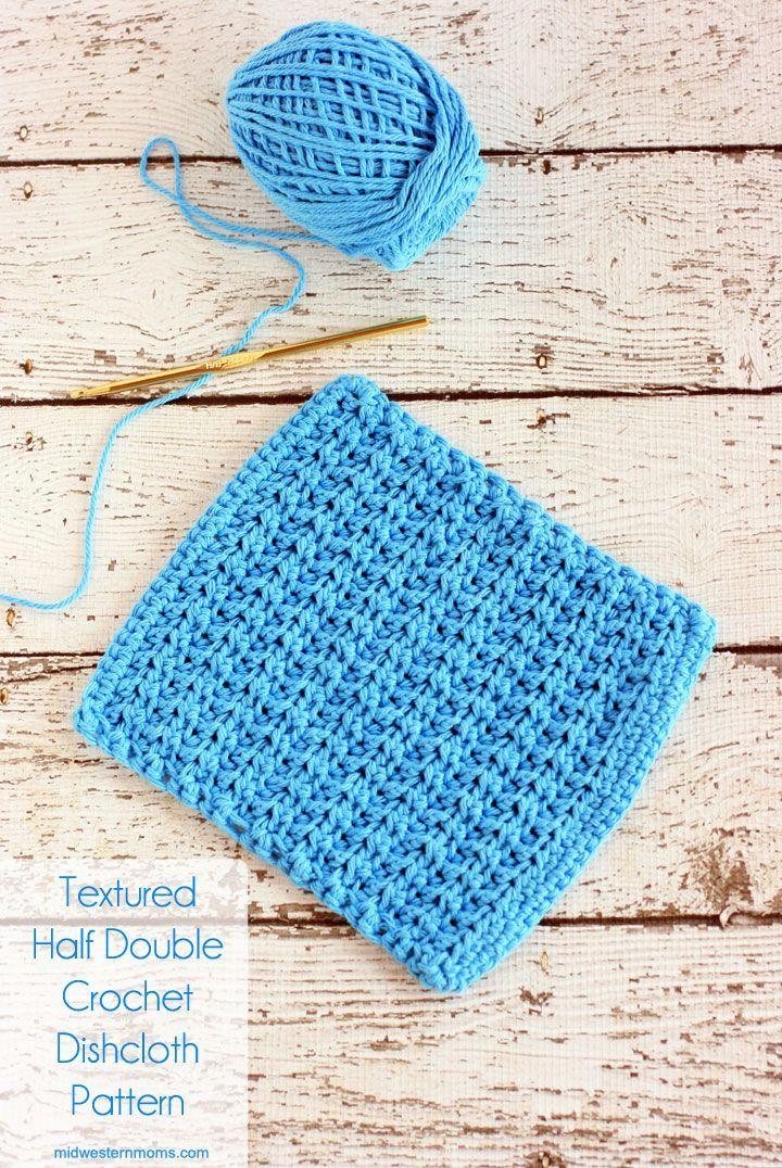 127 best Crochet dish cloth sets images on Pinterest | Knit crochet ...