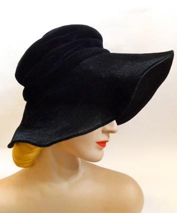 Dorothea's Closet Vintage, vintage hat, vintage hats, vintage cloche, vintage pillbox, vintage bonnet
