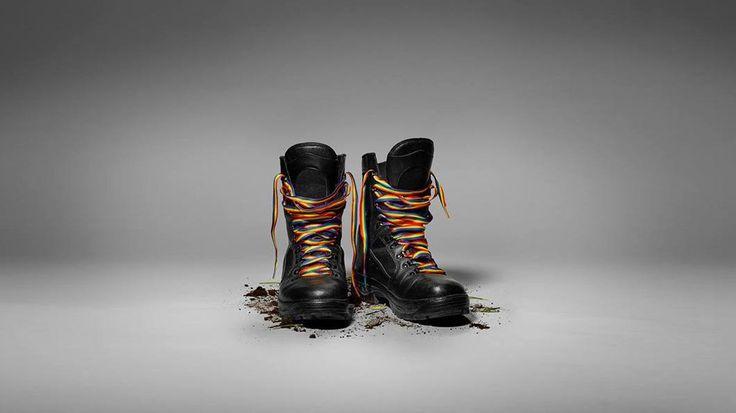 Forças Armadas da Suécia defendem igualdade de direitos com arte no Facebook
