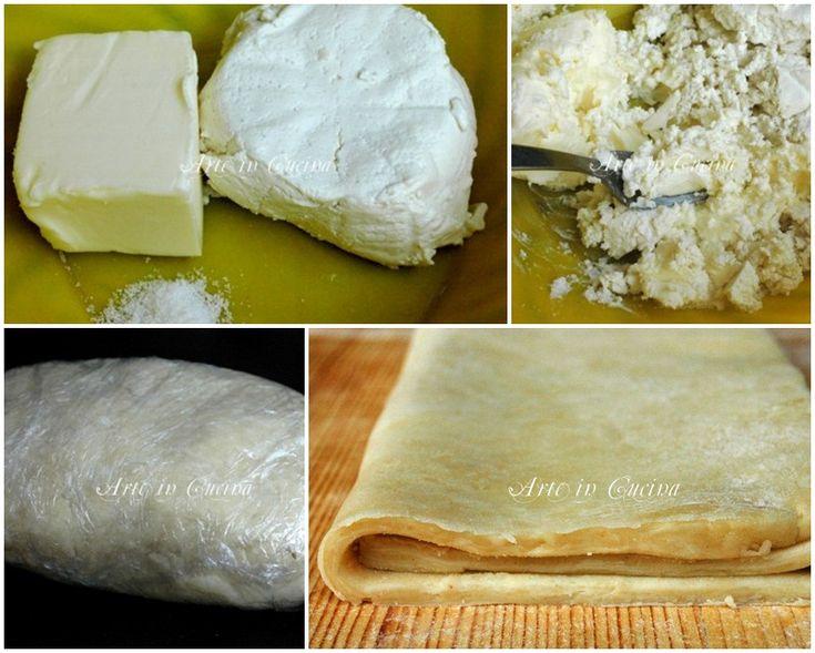 Come fare la pasta sfoglia in 5 minuti, pasta sfoglia veloce con la ricotta o philadelphia, ricetta veloce, pasta sfoglia con foto, passo passo di immagini