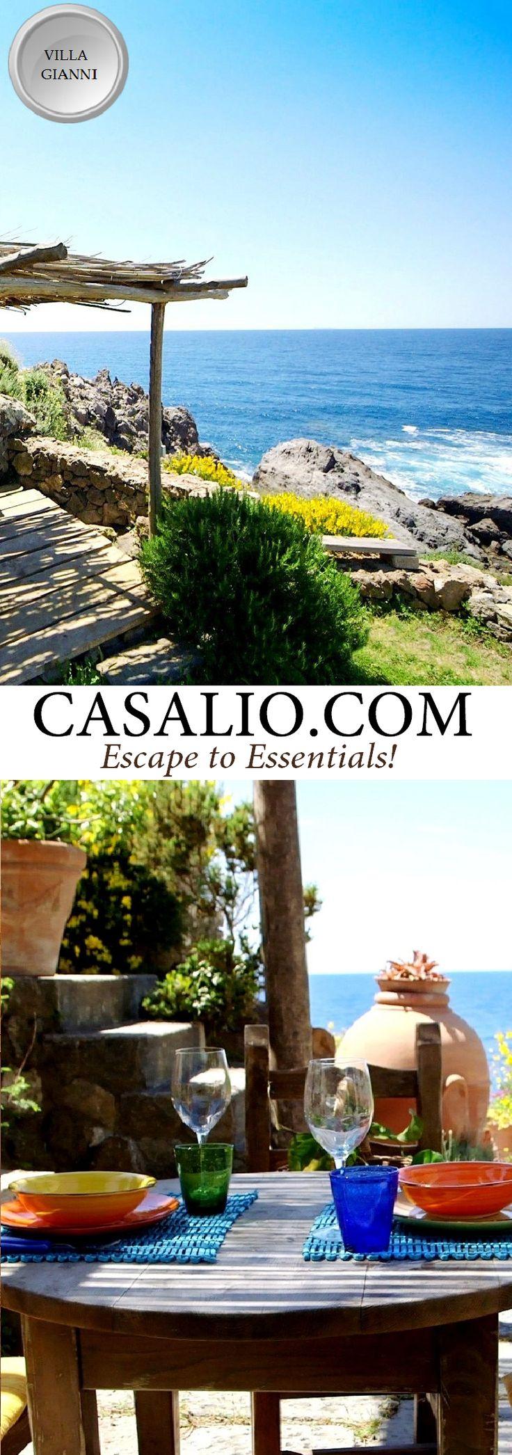 Ischia Luxury Villas    Villa Gianni    Island of Ischia, Italy    Villa Gianni is…