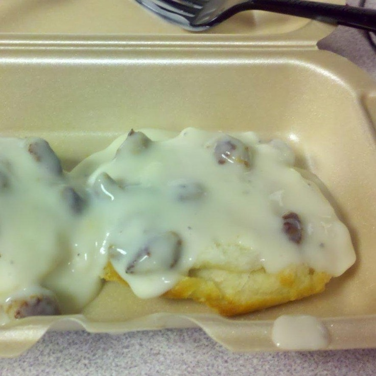 Biscuits and Gravy from the McDonald's secret menu