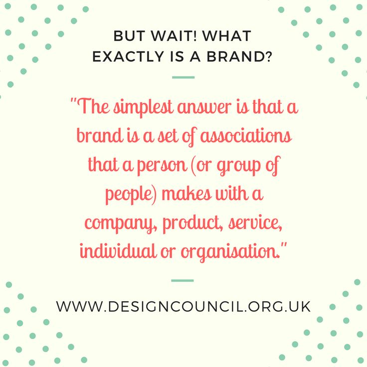 What exactly is a brand? #brand #branding #brandpersonality