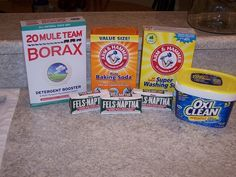 The Teacher's Wife: Homemade Powder Laundry Detergent