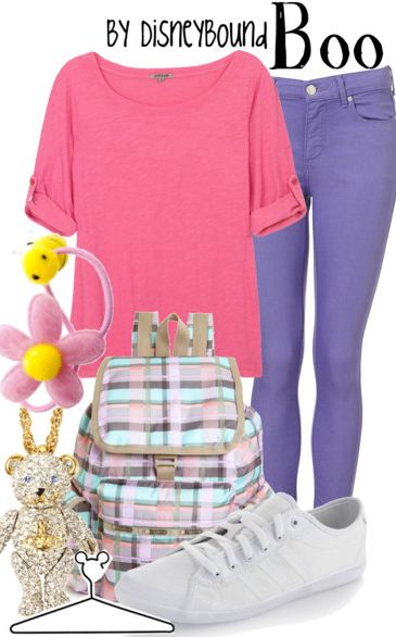 : Disney Outfit, Disney Clothing, Monsters Inc, Disney Inspiration, Disney Bound, Disneyland Outfit, Disneybound Outfit, Halloween Ideas, Disney Fashion