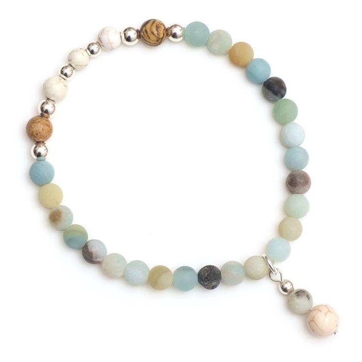 xada jewellery - Amalfi matte stone bead bracelet, $29.95 (http://www.xadajewellery.com/shop-by-collection/xada-matte-stone-bead-bracelet/)