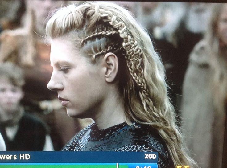 Left side of lagertha's hair | hair | Pinterest | Lagertha ...