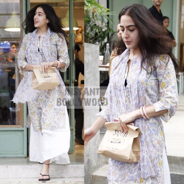 Kitchen Garden Bandra: Sara Ali Khan Pataudi Snapped In Bandra Earlier Today