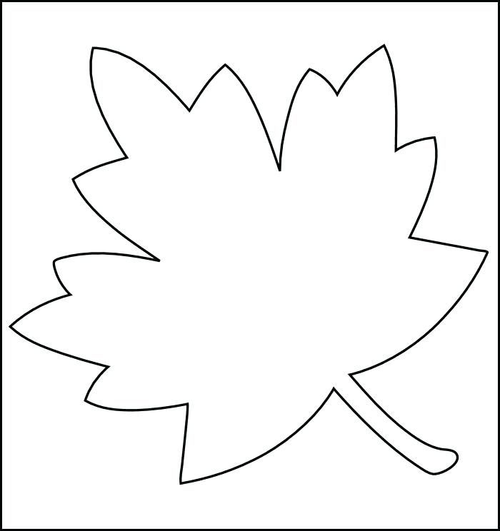 graphic relating to Printable Leaf Stencils titled Graphic consequence for autumn leaves templates Slide Leaf