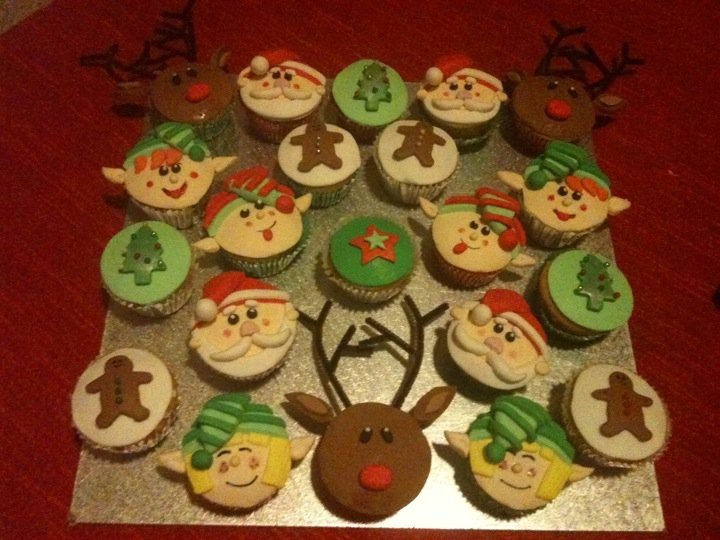 More Chrissy Cupcakes