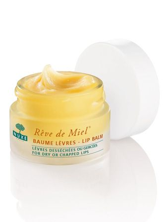 Nuxe Rêve de Miel Ultra-Nourishing Lip Balm, $19, available at Nuxe.  completely matte- works as lip primer
