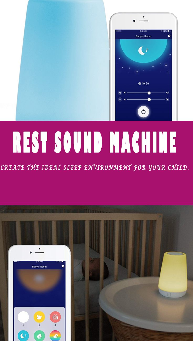 Hatch Baby Rest Sound Machine, Night Light and Time-to ...