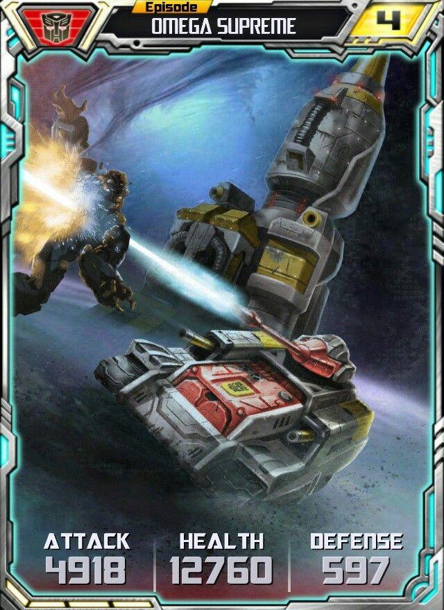 OmegaSupreme card