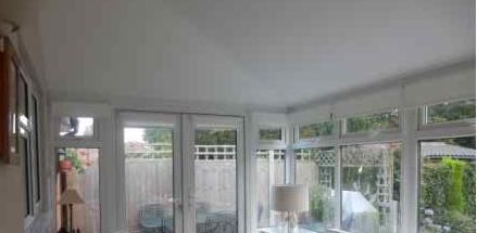 Conservatory Roof Insulation -after
