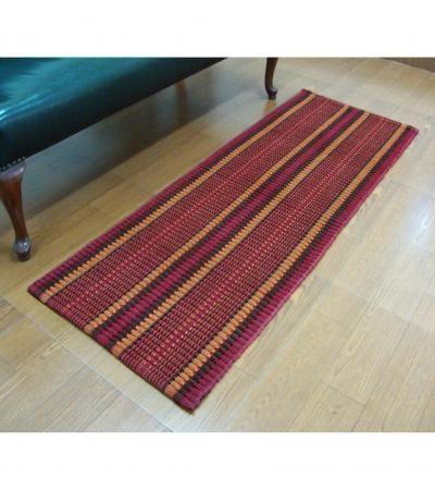 Elysia Bed Side Runner  Red /orange Bed Side Runner  Offer Price Rs.1150/-