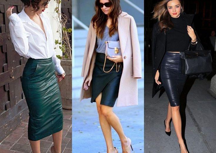 Leren rok naar kantoor, inspirtatie. Leather skirt to the office, inspiration. www.girlalmighty.nl
