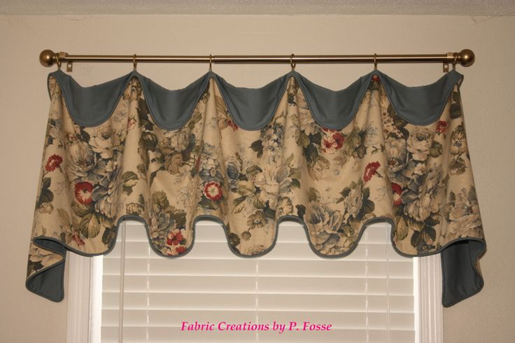 Cuff top valance by fabric creations curtains tab tie ring gro