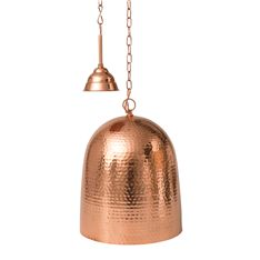 ceiling pendant beaten copper