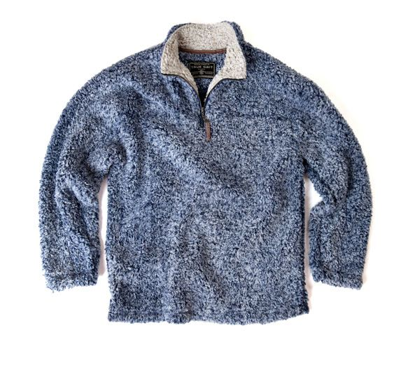 True Grit - Frosty Tipped Pile Zip Pullover :: Sweaters & Pullovers :: Men's Apparel :: Mens :: Oak Hall
