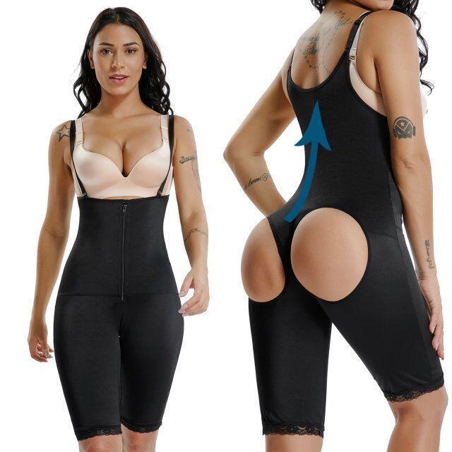 9510e05b89215 Women Ultra Slim Full Body Shaper Underbust Shapewear Fajas Colombianas  Bodysuit  fashion  clothing  shoes  accessories  womensclothing   intimatessleep ...