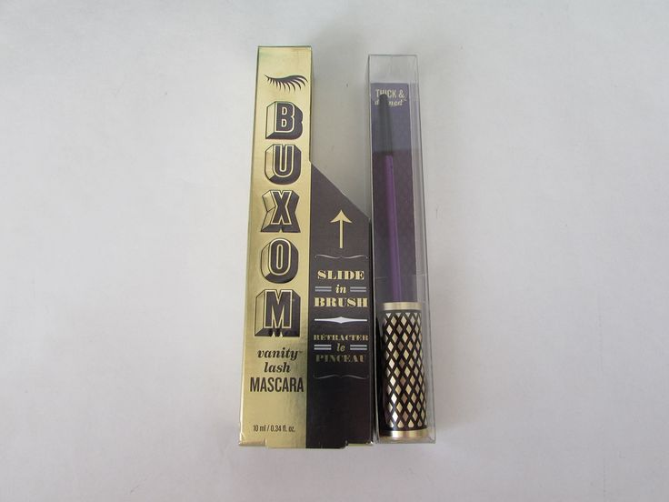 Bare Minerals Buxom Thick and Defined Vanity Lash Mascara Show Off Black 0.34oz with Thick and Defined Brush Boxed. Bare Minerals Buxom Thick and Defined Vanity Lash Mascara Show Off Black 0.34oz with Thick and Defined Brush Boxed.